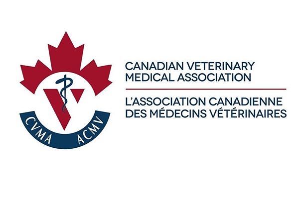 The logo of the Canadian Veterinary Medical Association